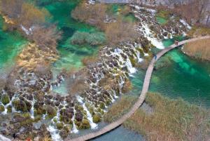 From Split: Zagreb Group Transfer w/ Plitvice Lakes Tour