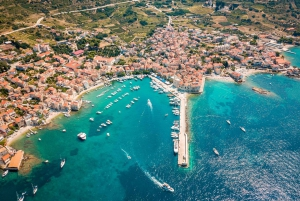 From Trogir and Split: Full-Day Blue Cave and 5 islands Tour
