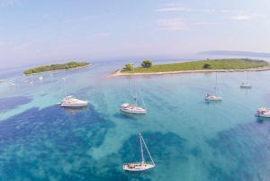 From Trogir: Blue Lagoon Private Tour with Traditional Boat