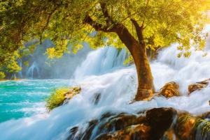 From Trogir: Krka Waterfalls & Skradin Small Group Tour