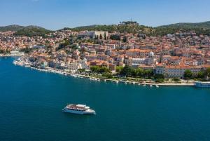 From Vodice: Krka National Park Sailing Boat Tour