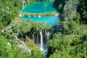 From Zadar: Round-Trip Transfer to Plitvice Lakes