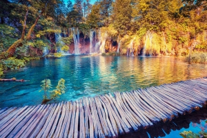 From Zagreb: Plitvice Lakes Small Group Guided Tour