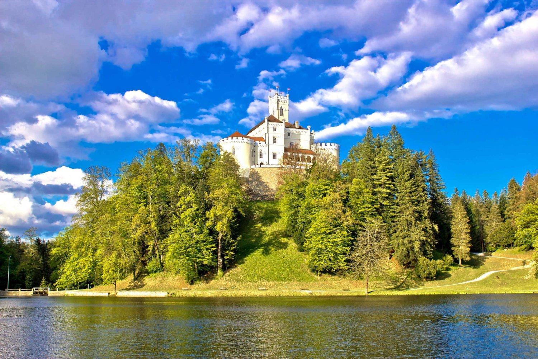 From Zagreb: Varazdin Baroque Town & Trakoscan Castle
