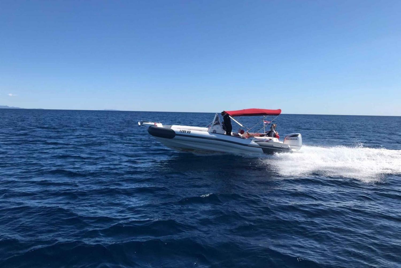 Full-Day Private Speed Boat Tour to Hvar & Brač