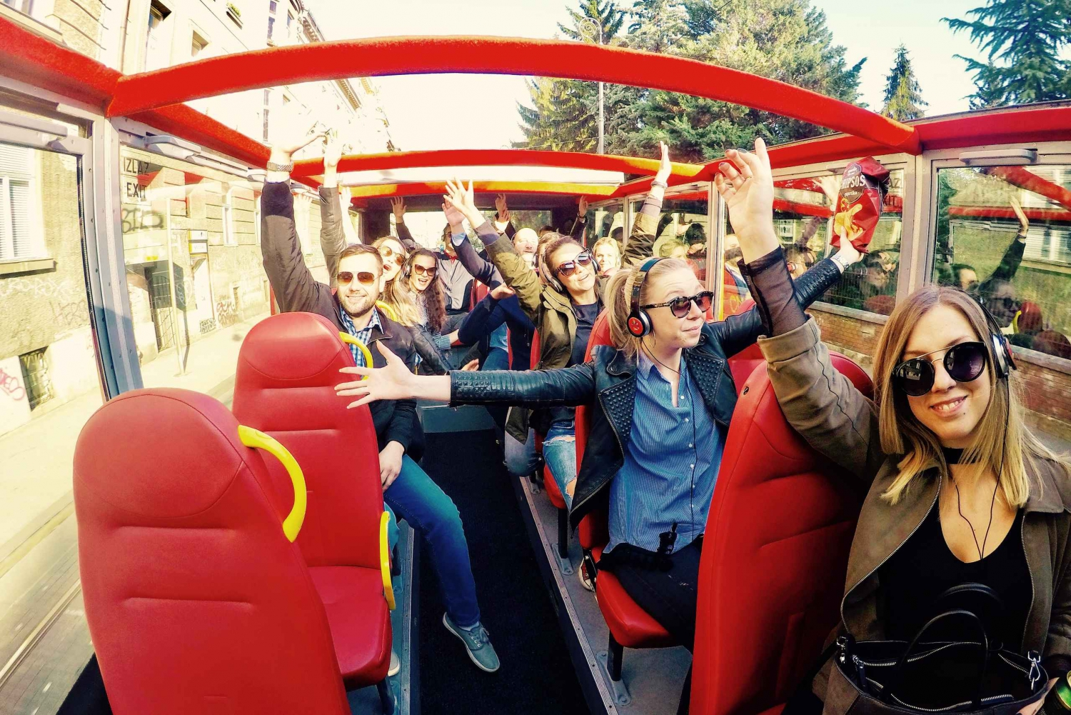 Hop On Hop Off Panoramic bus - Zagreb City Tour