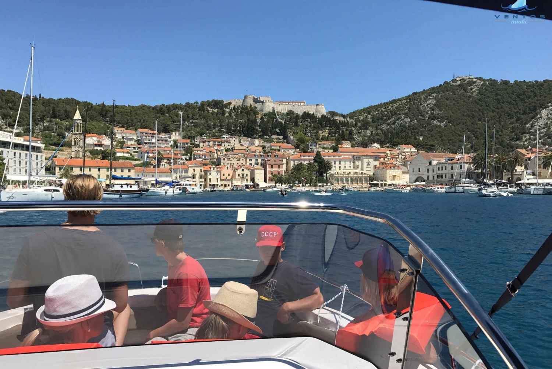 Hvar and Pakleni Islands Speedboat Tour