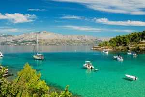 Hvar, Pakleni and Brac Island Private Speedboat Tour