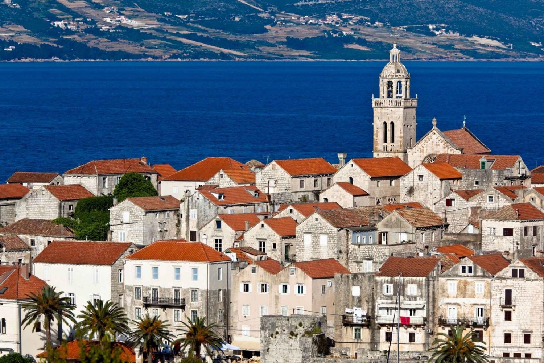 Korčula & Ston Full-Day Private Tour from Dubrovnik
