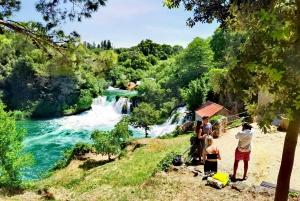 Krka National Park Tour from Split or Trogir