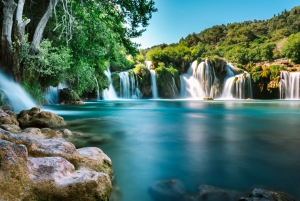 Krka Waterfalls and Skradin Day Tour from Split