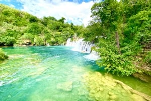 Krka Waterfalls Private Tour from Split and Trogir