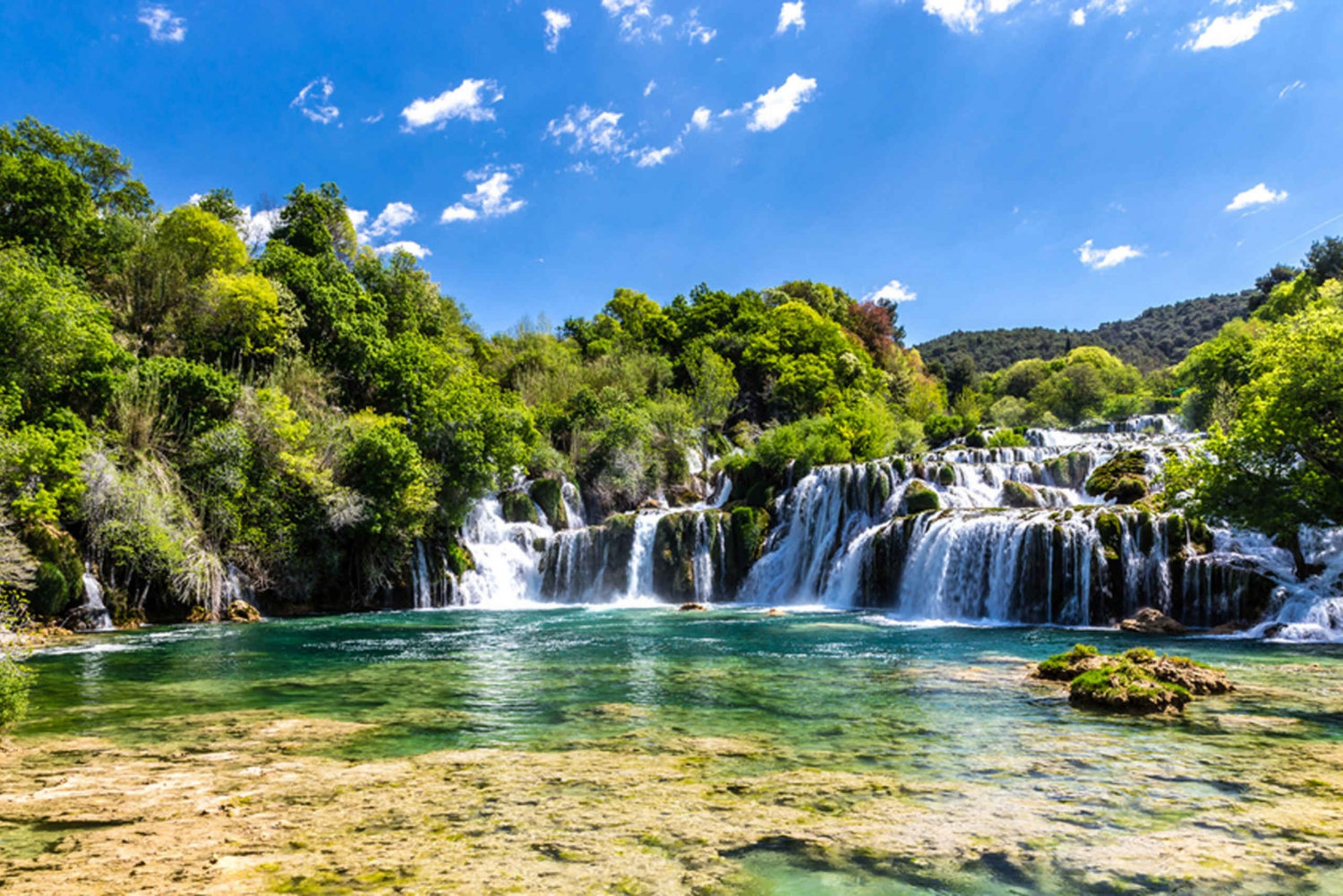 Krka Waterfalls & Šibenik Tour from Split or Trogir