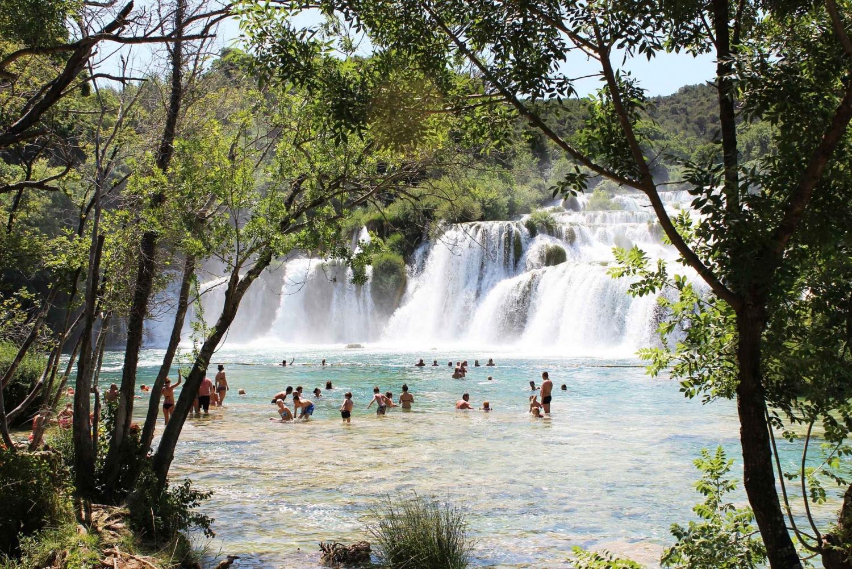 Krka Waterfalls Tour from Split, Kaštela & Trogir
