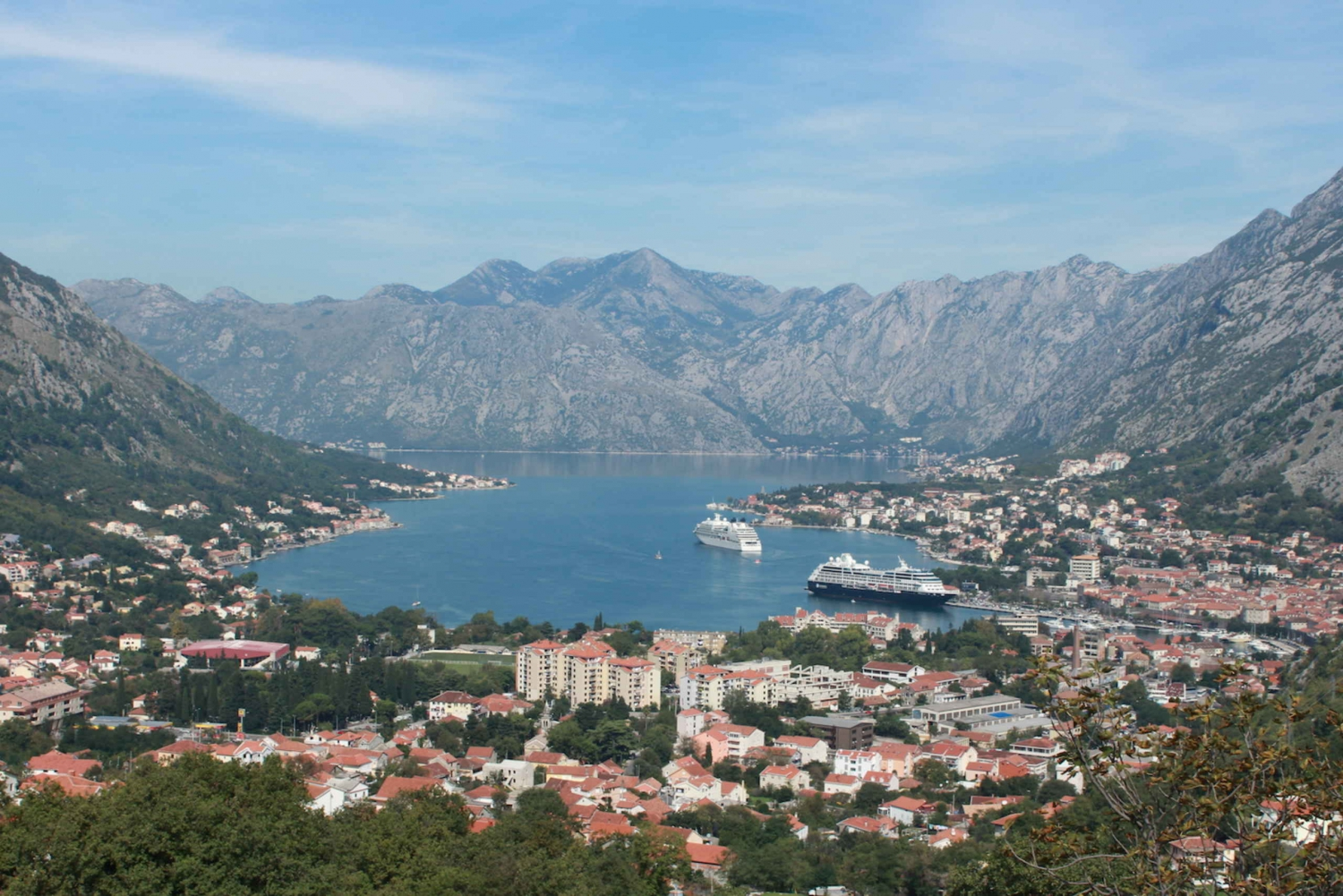 Montenegro Bay of Kotor Day Excursion from Dubrovnik