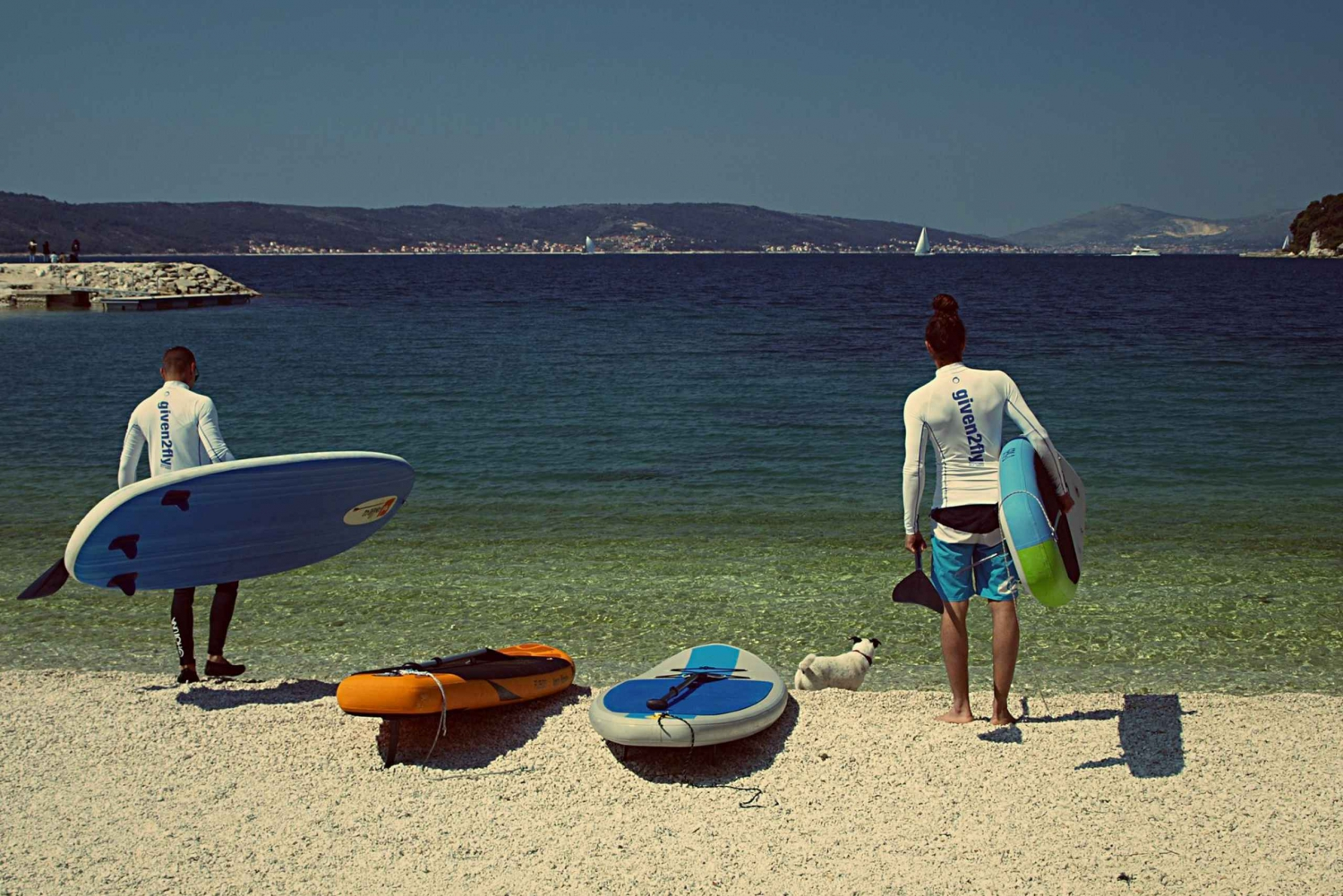 Morning Stand Up Paddling Tour in Split