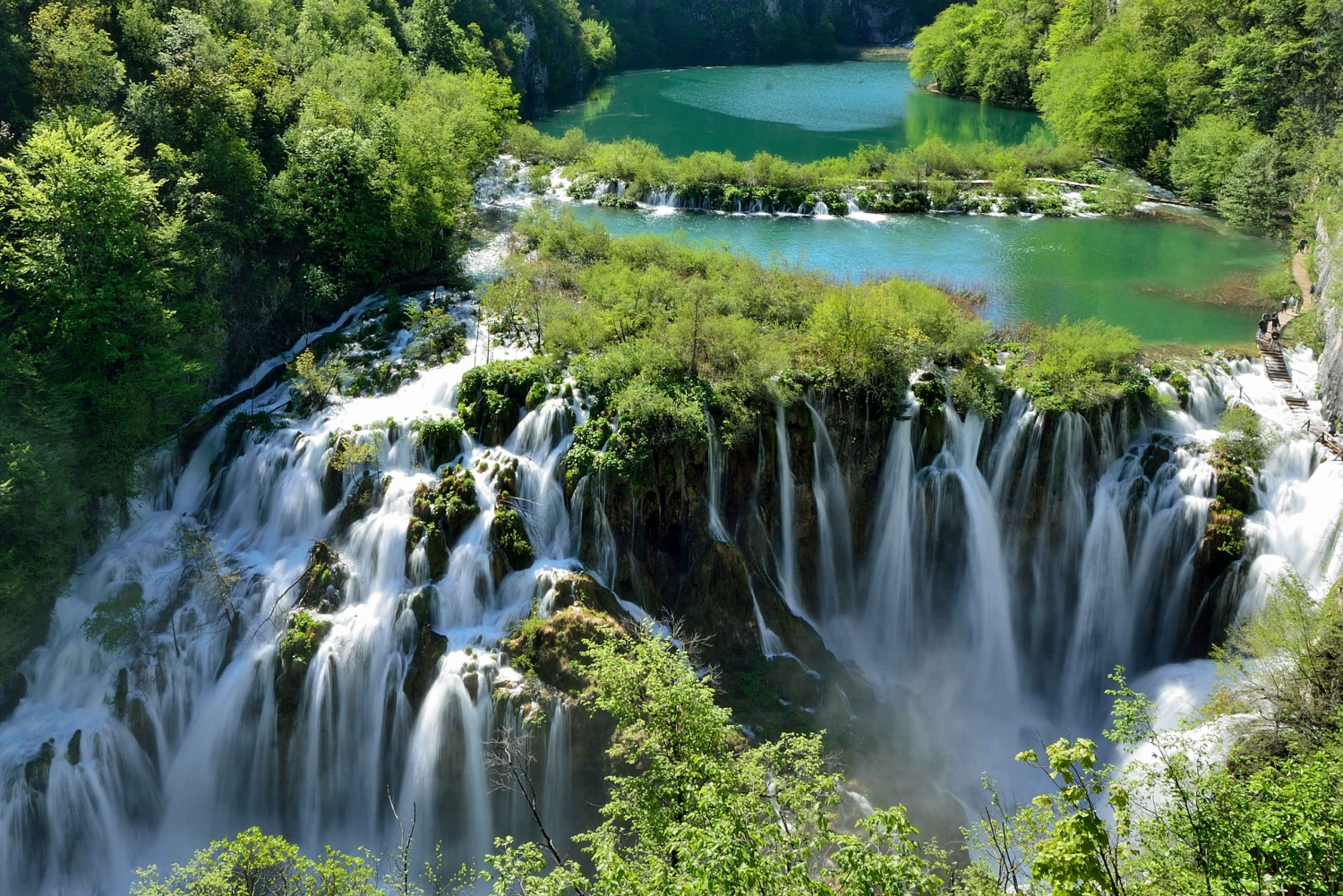 Novalja: Day Trip to National Park Plitvice Lakes