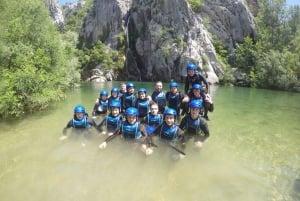 Omiš: Cetina River Canyoning Experience