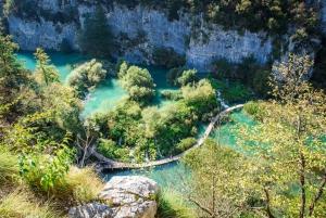 Plitvice Lakes Day Tour from Split or Trogir