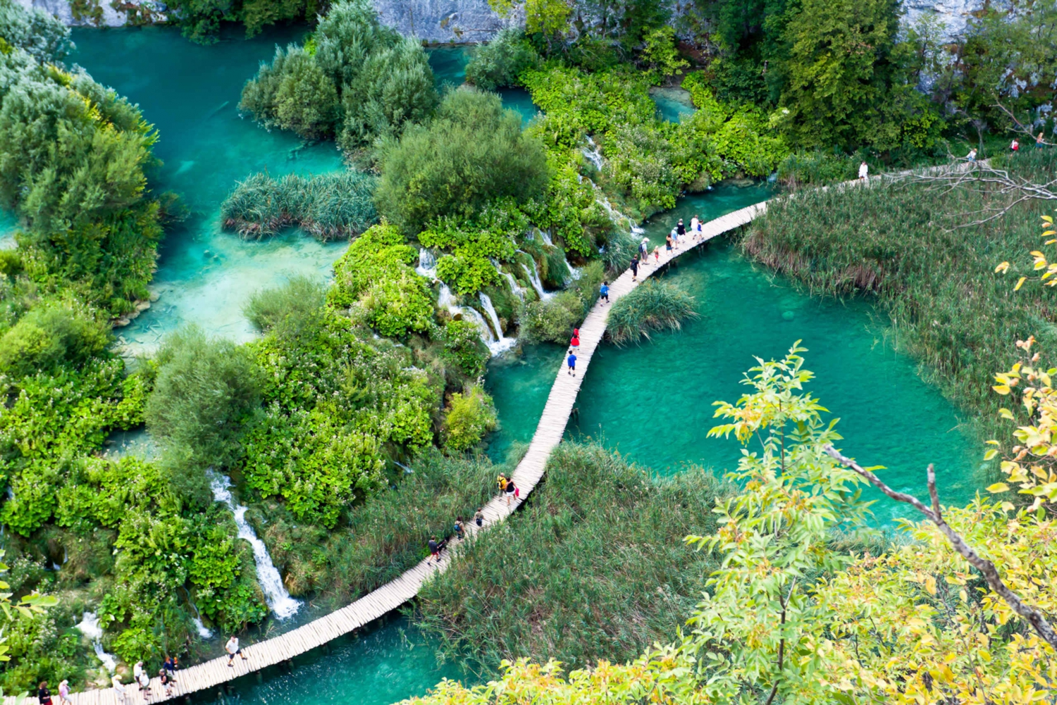 Plitvice Lakes: Full–Day Tour from Omis, Split and Trogir