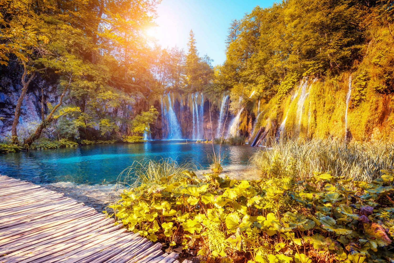 Plitvice Lakes Full-Day Tour from Split or Trogir