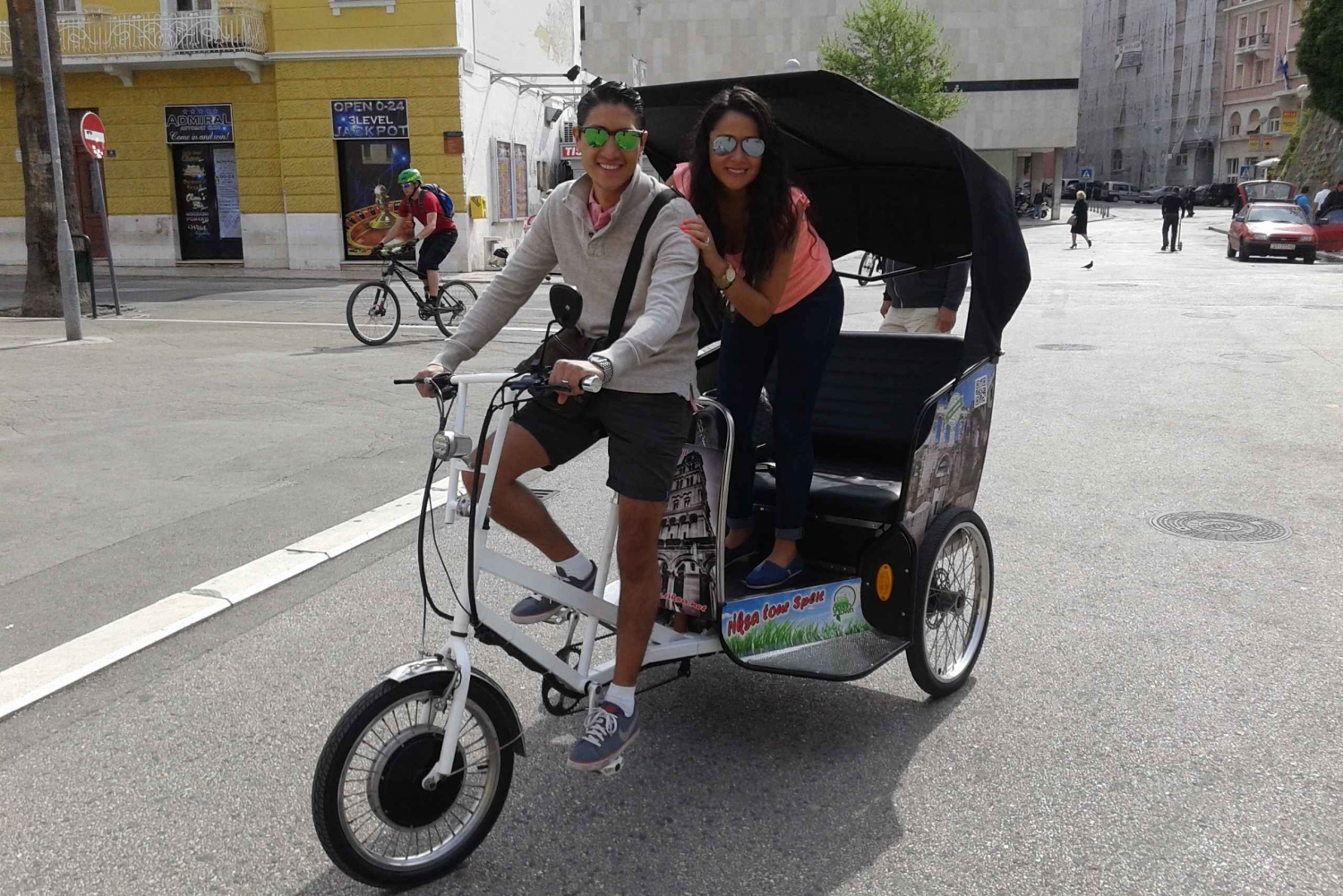 Private Split Rickshaw Ride Tour West