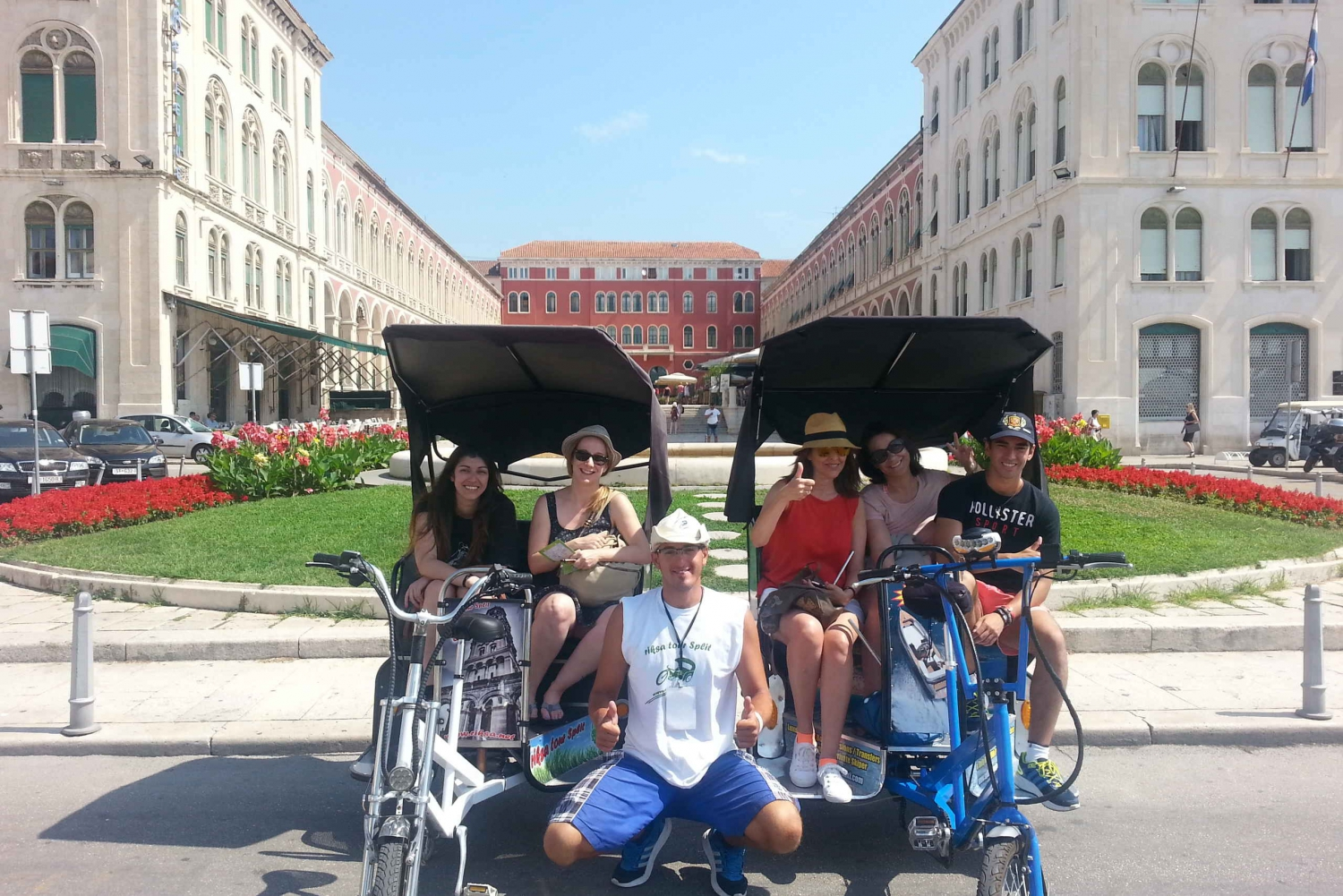 Private Split Rickshaw Tour - Grand Circle
