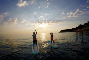 Pula: 1.5-Hour Stand-Up Paddleboard Sunset Tour