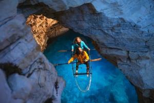 Pula: Night-Time Sea Kayaking Tour in Transparent Kayak
