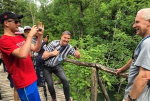 Rastoke & Plitvice Lakes National Park Tour from Zagreb
