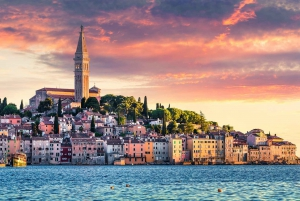Rijeka: Pula, Rovinj, and Panoramic Istrian Coast Tour