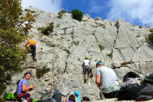 Rock Climbing Lesson in Dubrovnik