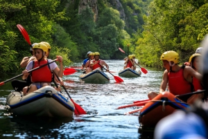 Small Groups From Split: Rafting on Cetina River
