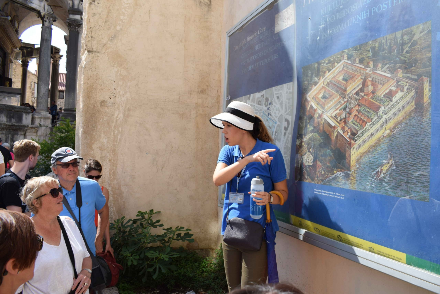 Split: 2-Hour Walking Tour with a Spanish Guide
