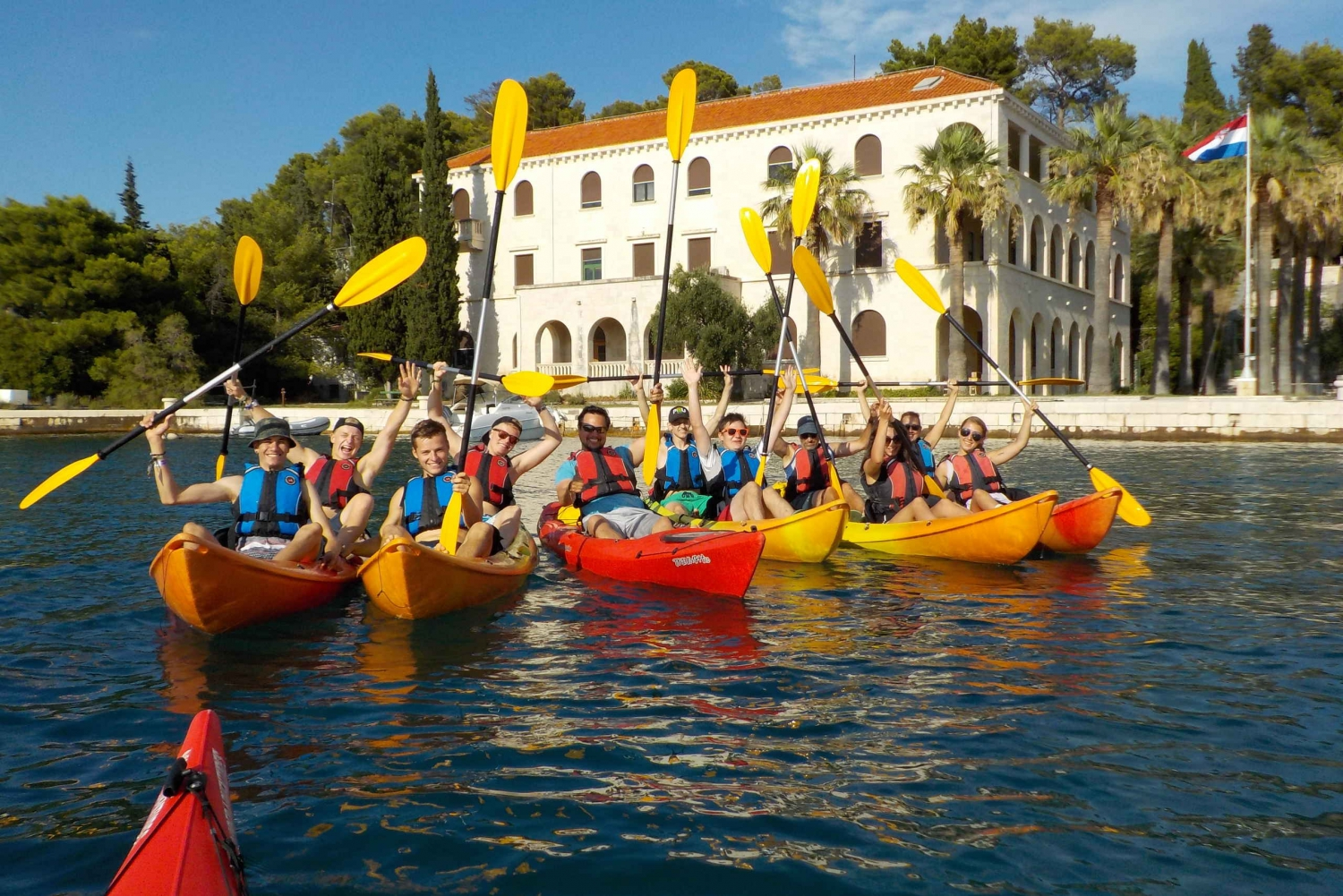 Split 4-Hour Guided Sea Kayak Tour