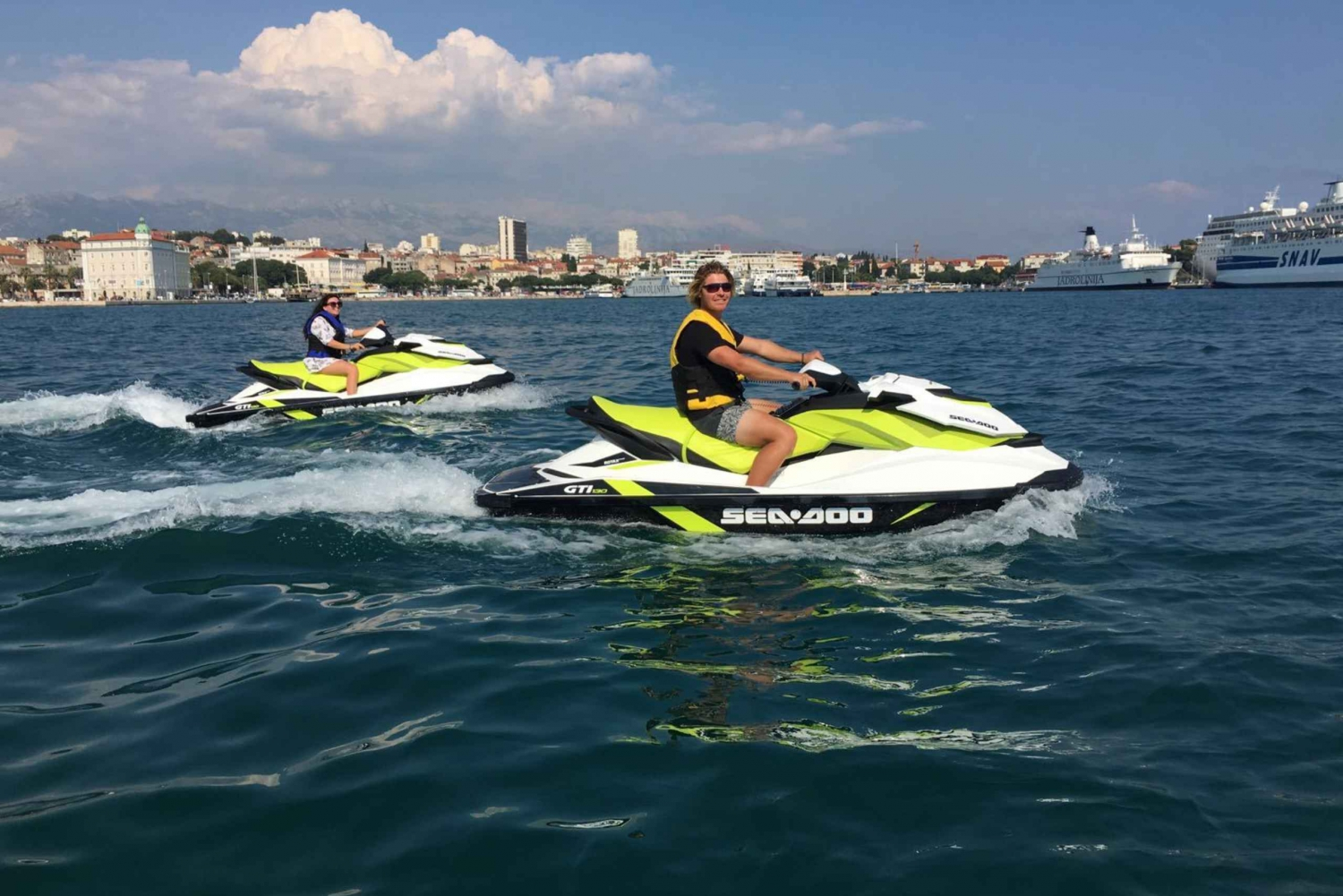 Split: 70 Minute Jet Ski Safari Experience