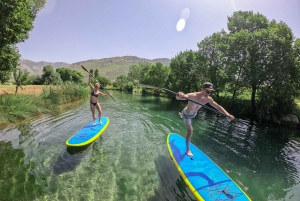 Split: Adriatic Sea and River Stand-Up Paddleboard Tour