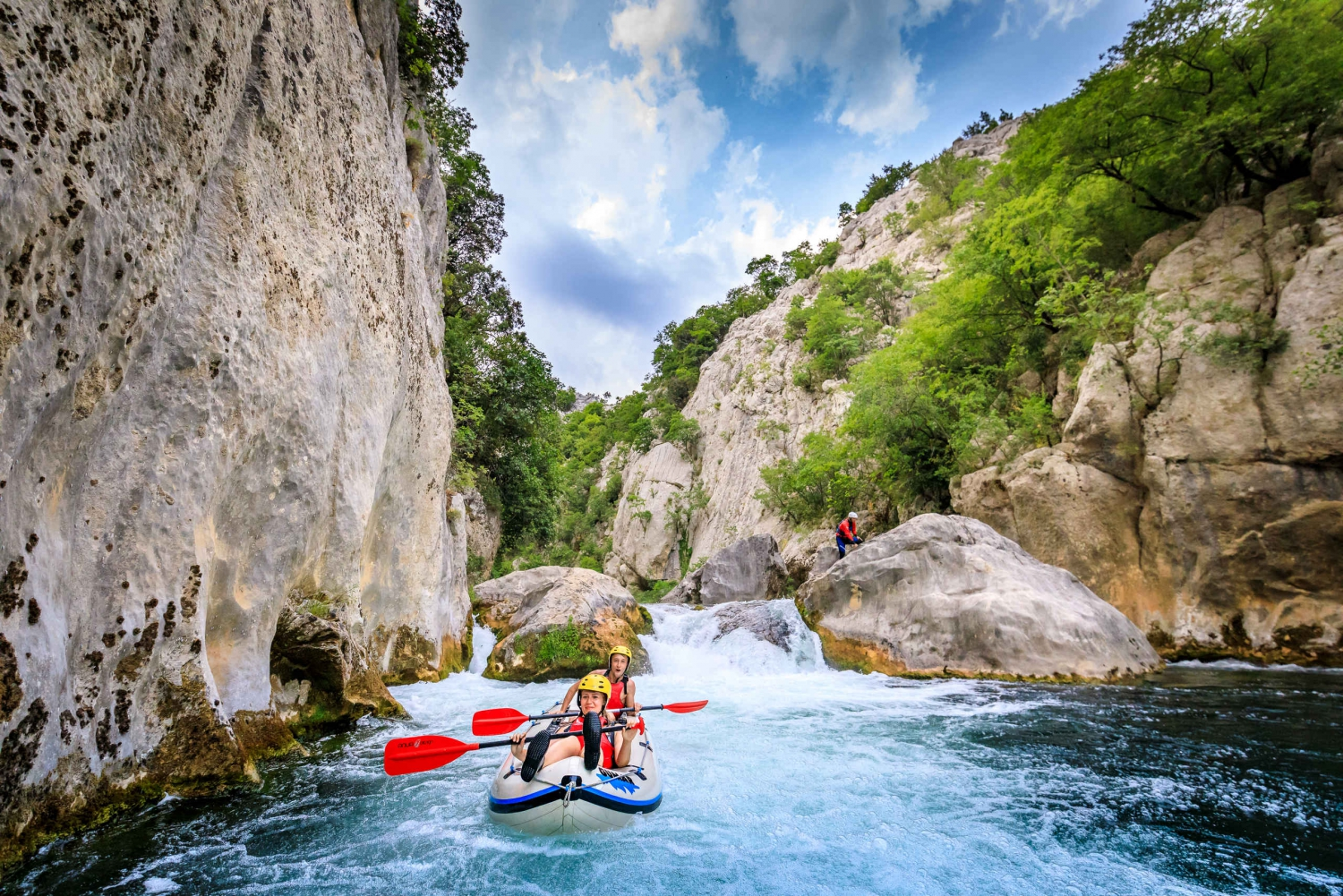 Split: Extreme Rafting on Cetina River