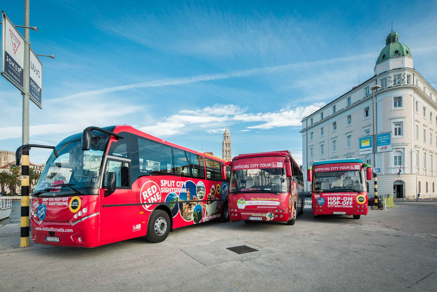 Split: Hop-on-Hop-off Bus Tour with Guided Walking Tours