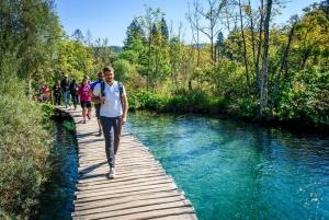 Split or Trogir to Zagreb with Full-Day Plitvice Lakes Tour