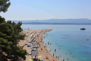 Split: Private Hvar and Brač-Bol Beach Boat Tour