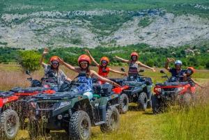 Split: Quad Bike Family Tour with Picnic Lunch