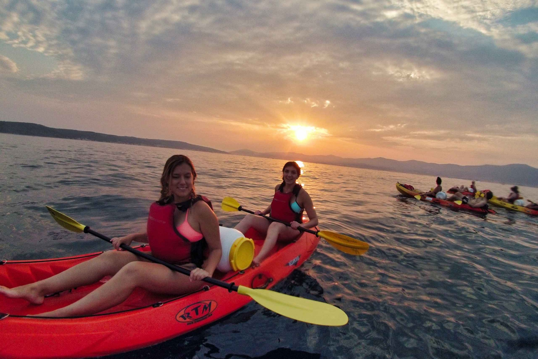 Split: Sea Kayaking Sunset Tour