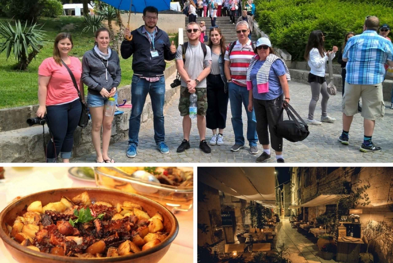 Split: Small Group Walking Tour and Dalmatian Peka