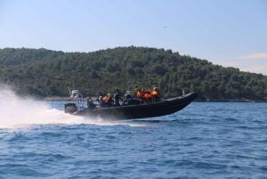 Split: Speedboat Tour with Blue Cave and Hvar Visit
