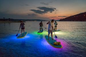Split: Stand Up Paddleboard Night Glow Tour