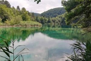 Split/Trogir to Zagreb: Private Transfer with Plitvice Lakes