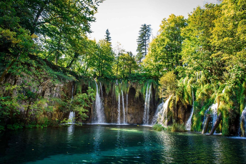 Transfer from Zagreb & Plitvice Lakes Trip