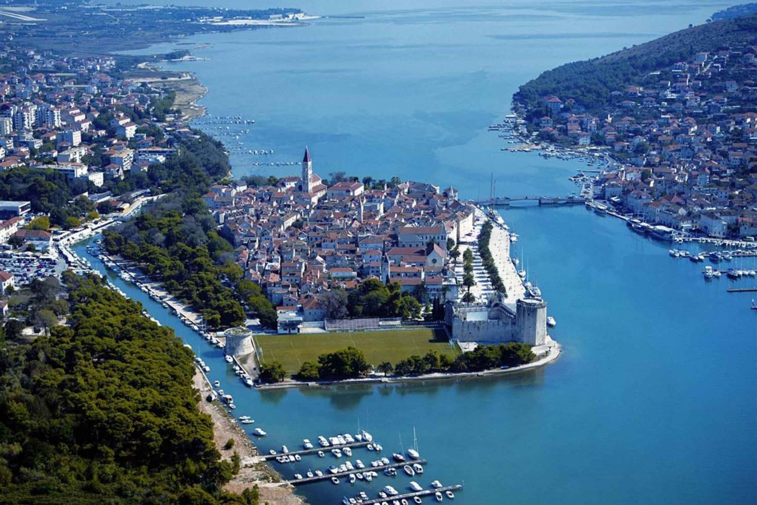 Trogir and Split UNESCO Heritage Sites Excursion from Zadar