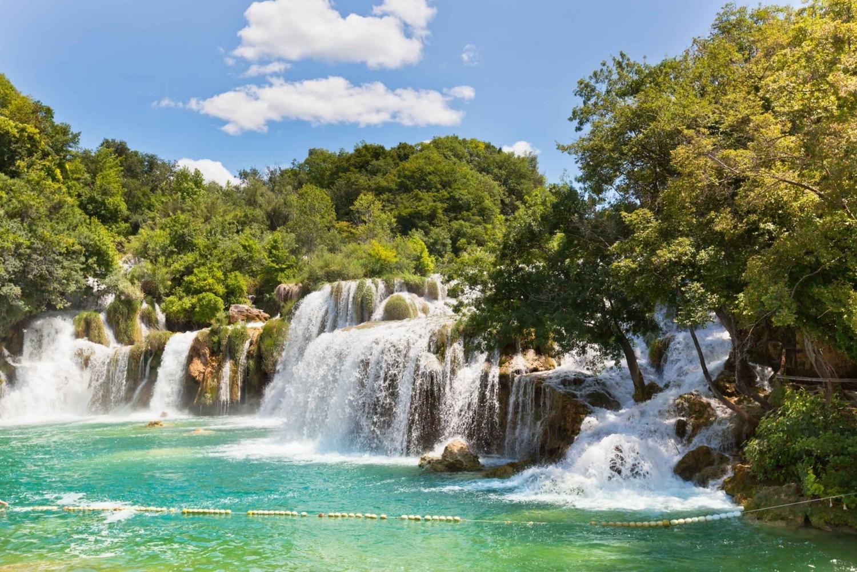 Zadar: Krka Waterfalls and Sibenik Nature Tour